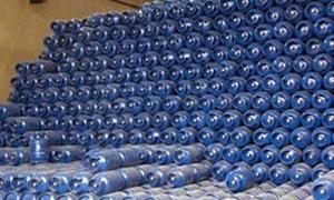 مصادرة شاحنتين محملتين بأسطوانات غاز دون ترخيص في حماة
