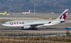 خطوط الطيران القطرية توقف جميع رحلاتها من وإلى سوريا