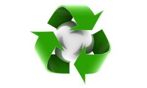 تعميم لإعادة تدوير الورق المستخدم