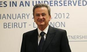 حاكم مصرف لبنان المركزي يقول أن النمو في بلاده سيبلغ 2% في نهاية 2013