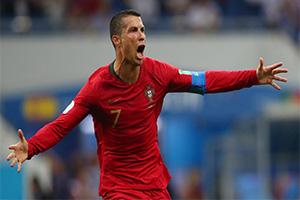 الحكم على رونالدو بالسجن قبل مباراه منتخب بلاده ضد إسبانيا