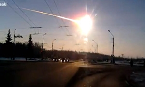 تشييد نصب تذكاري لنيزك روسيا