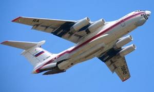 وصول طائرة وزارة الطوارئ الروسية المحملة بـ 11 طناً من المساعدات الى اللاذقية