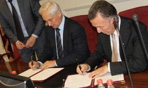 فلسطين وروسيا توقعان مذكرة تفاهم لزيادة التبادل التجارى