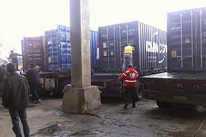 الصين تقدم ألف طن من الأرز كمساعدات لسوريا