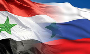 رجـال أعمـال روس وسـوريون يبحثون تطوير التبادل التجاري في دمشق