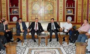 صناعيو دمشق وعمالها في لقاء مشترك