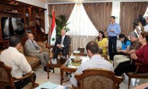 تعاون سوري لبناني لتفعيل الاتفاقيات الزراعية