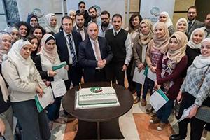 بنك سورية الدولي الإسلامي ينظم جولة مصرفية للمشاركين في دورة (مصرفيو المستقبل)