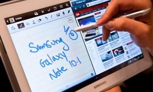 جهاز Galaxy Note 10.1 اللوحي الجديد من
