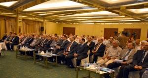 طعمة أمام صناعيي دمشق: هدفنا الصناعة الوطنية وقانوني