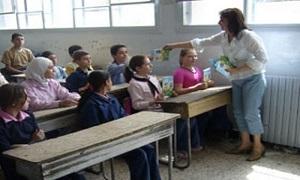 تربية ريف دمشق: أكثر من 70 طالب في الصف الواحد