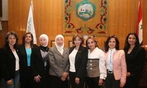 لجنة سيدات الأعمال تقيم دورة لمهارات التقديم