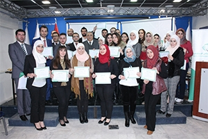 بنك سورية الدولي الإسلامي يخرج دفعة من كوادره الذين أنهوا دورة العلوم المصرفية