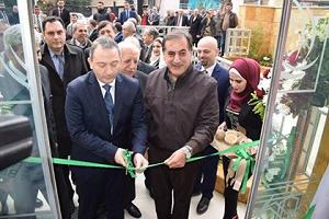 بالصور: حاكم مصرف سورية المركزي يفتتح فرعاً جديداُ لبنك سورية الإسلامي في حلب