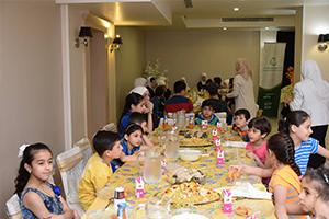 بنك سورية الدولي الإسلامي يقيم مأدبة رمضانية لأيتام