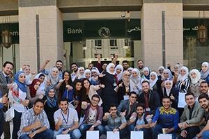 بنك سورية الدولي الإسلامي ينظم جولة مصرفية لطلاب المصارف والتأمين من جامعة دمشق