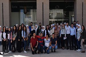 بنك سورية الدولي الإسلامي ينظم جولة مصرفية للمتدربين ضمن رعايته لفعاليات Economic DAYS 5