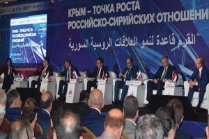 وزير الاقتصاد: إنشاء بيت للتجارة وشركة ملاحة مشتركة بين سورية والقرم
