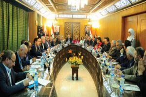 وفد بولندي يجتمع مع تجار وصناعيي دمشق..ومقترحات هامة يتم طرحها