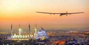 الإنطلاق من أبو ظبي..طائرة تعمل بالطاقة الشمسية تقلع في اول رحلة حول العالم بدون وقود