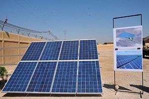 بتكلفة مليار ليرة ..تدشين أول محطة لتوليد الكهرباء بالطاقة الشمسية في سورية