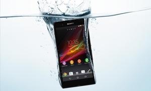 سوني تعرض أول هاتف مقاوم للماء