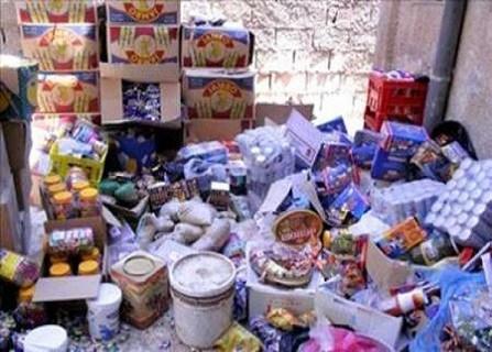 في دمشق.. سوبر ماركت يبيع مواد فاسدة و دوريات التموين