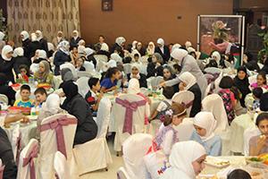 بنك سورية الدولي الإسلامي يقيم حفل إفطار لنزلاء جمعية الرعاية الاجتماعية للأيتام