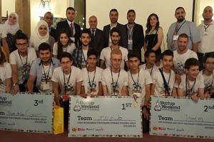 بنك البركة سورية شريك إستراتيجي لفعالية Damascus 2016  Startup weekend