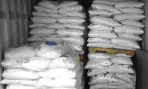 ضبط 40 طناً من السكر في اللاذقية
