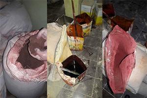 بالصور: أكبر عملية غش لمادة السماق في الأسواق السورية .. إليكم التفاصيل