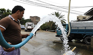 تقرير: أحياء في العاصمة دمشق بلا