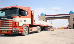 مسؤول: عودة حركة التبادل المنتجات الزراعية بين سورية والعراق