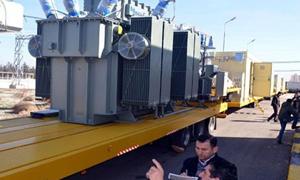 كدفعة أولى..وزارة الكهرباء تتسلم 14 محولة كهربائية من