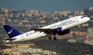الحكومة توافق على  رفع أسعار الرحلات الداخلية للسورية للطيران