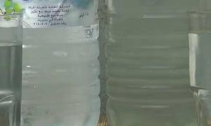 ضبط مستودع في ريف دمشق يقوم بتعبئة مياه عادية على أنها مياه معدنية