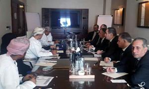 وفد غرفة صناعة دمشق يبحث في عمان إقامة المعارض المشتركة