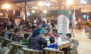 ضمن حملة إفطار ألف صائم..بنك سورية الإسلامي يقيم إفطاراً لجمعية أطفال دار الأيتام بحلب