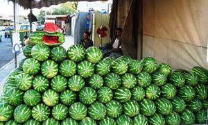 نشرة أسعار الخضار والفواكه في سورية.. الحر يرفع كيلو البطيخ لـ55 والبندورة إلى 75 ليرة