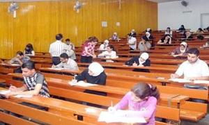 ضبط 13 حالة غش بكلية الآداب في جامعة دمشق..ولا حالة منها بالبلوتوث