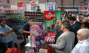 بمشاركة 54 شركة صناعية..مهرجان التسوق الشهري انطلق بدمشق بتخفيضات تصل إلى 35%
