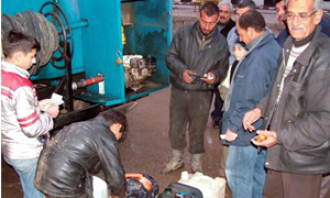 تموين حلب يضبط 2000 ليتر مازوت للاتجار غير المشروع