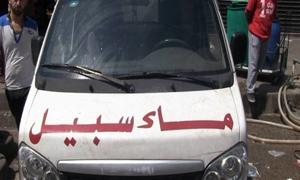 مواطن حلبي يحل أزمة المياه في 12 بناية ومسؤولي المدينة