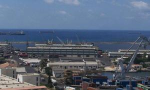 مرفأ اللاذقية يسجل 1.3 مليون طن بضائع منذ بداية العام الحالي