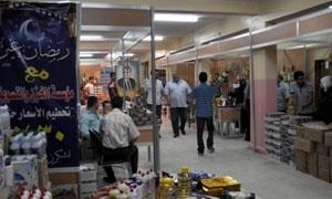 افتتاح مهرجان للتسوق في مدينة حمص بحلول شهر رمضان