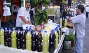 أسعار الخضار والفواكه واللحوم في أسواق دمشق  ليوم الاحد 21-6-2015