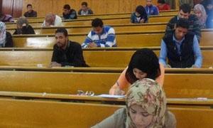 146 حالة غش وتلاعب في ثلاث كليات بجامعة دمشق.. وامتحانات