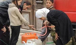 الحلقي يؤكد: توفير 50 بالمئة من المياه لمدينة حلب.. ودعوة للتوسع بصناعة السخانات الشمسية