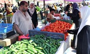 الأسعار تصيب أسواق دمشق بالجمود..والمواطن يلجأ إلى السيارات الجوالة لسد حاجاته